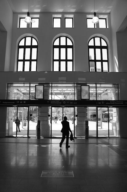 Bahnhof St. Pölten Eingangshalle