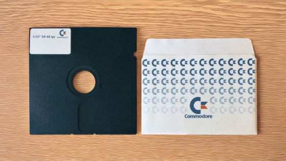 Commodore C64 5,25-Zoll Floppy Disk