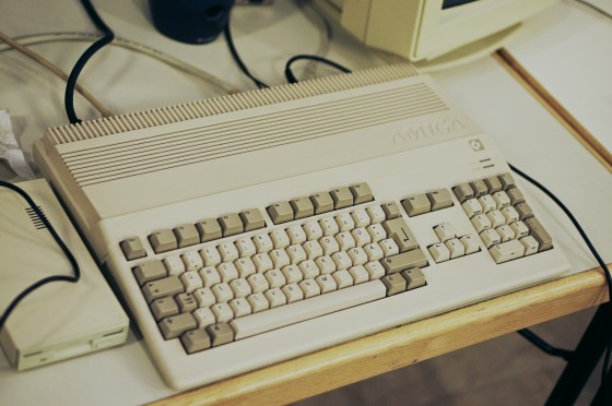 Commodore Amiga 500 @ Game City 2014