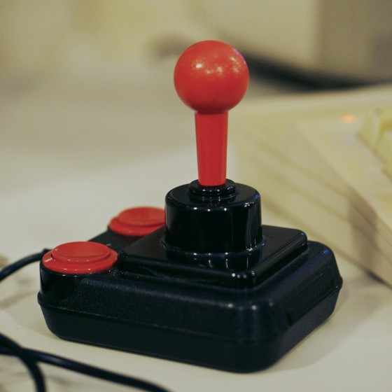 C64 Competition Pro Joystick @ Game City 2014