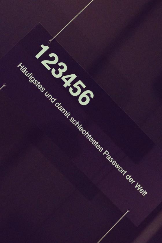 Das häufigste und damit schlechteste Passwort der Welt ist 123456.