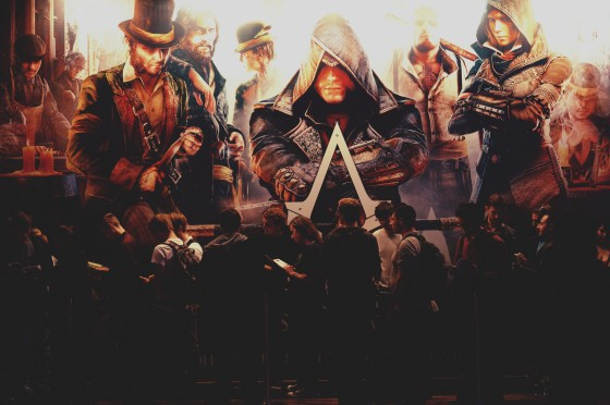 Assassin's Creed Syndicate Schlange @ Game City 2015
