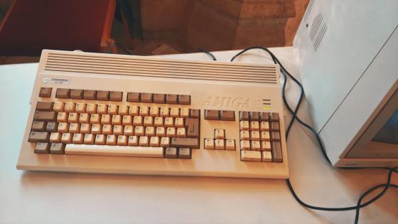 Commodore Amiga 1200 @ Game City Wien