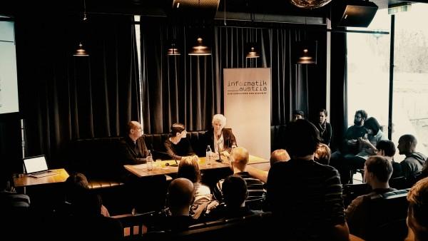 Logic Lounge mit Peter Norvig, Forschungsdirektor bei Google, und Gerhard Widmer, AI-Forscher @ Heuer am Karlsplatz
