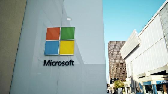 Microsoft Store Logo @ Westfield Century City, 10250 Santa Monica Blvd., Los Angeles, CA 90067
