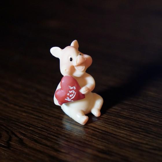 Prosit Kiss Glücksschweinchen