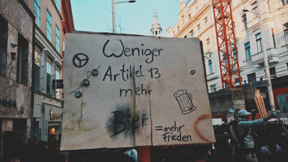 Save Your Internet Demo in Wien am 23.03.2019