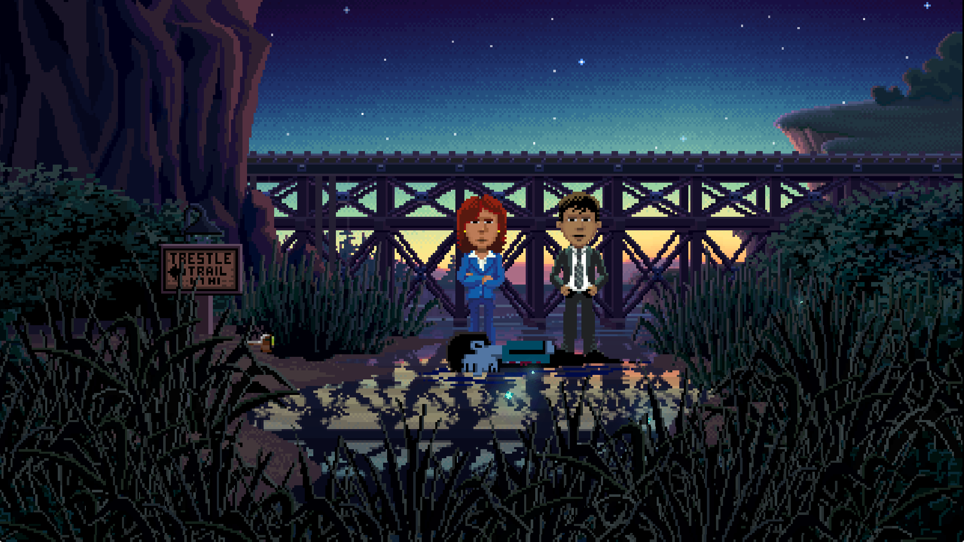 Thimbleweed Park, Point & Click Grafik-Adventure