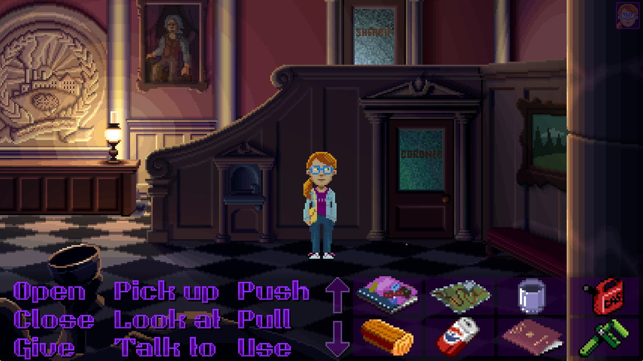 Thimbleweed Park: Dolores in der City Hall