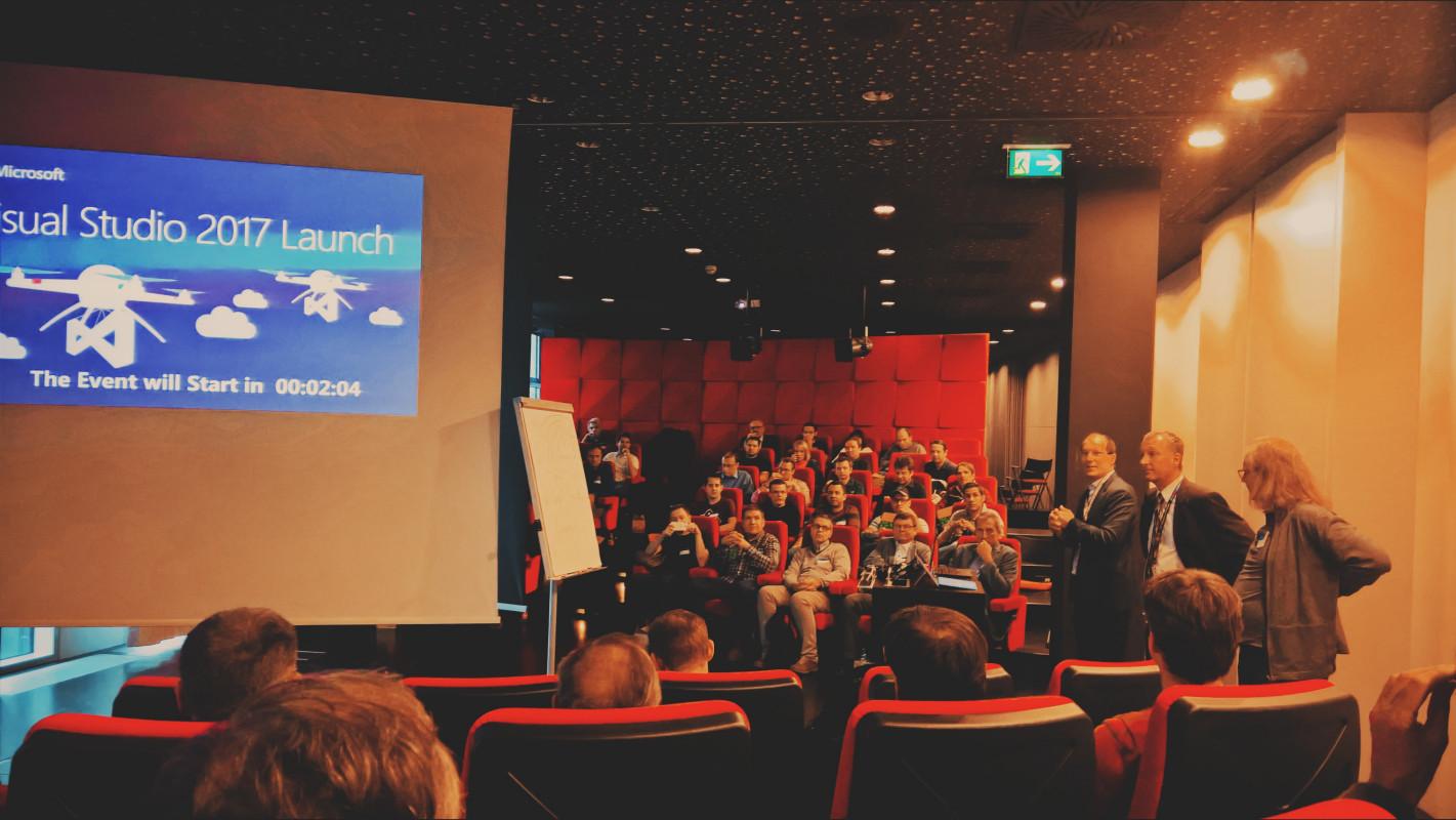 Visual Studio 2017 Launch-Party bei Microsoft Österreich, Wien