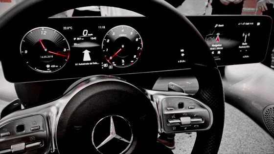 We Are Developers: New Mercedes A Class Touchscreen