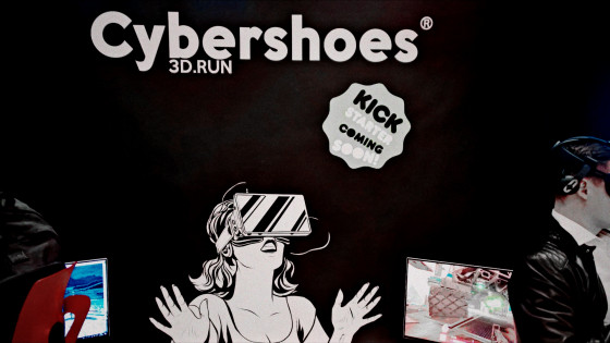 Cybershoes @ We Are Developers