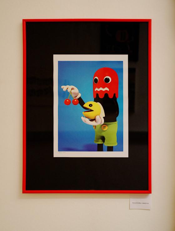 Pacman von Teodoru Badiu @ We Love 8-Bit Ausstellung Wien