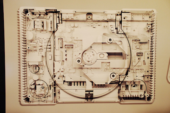 """Playstation 1 """"PS1"""" von Georg Bodenstein @ We Love 8-Bit Ausstellung Wien"""