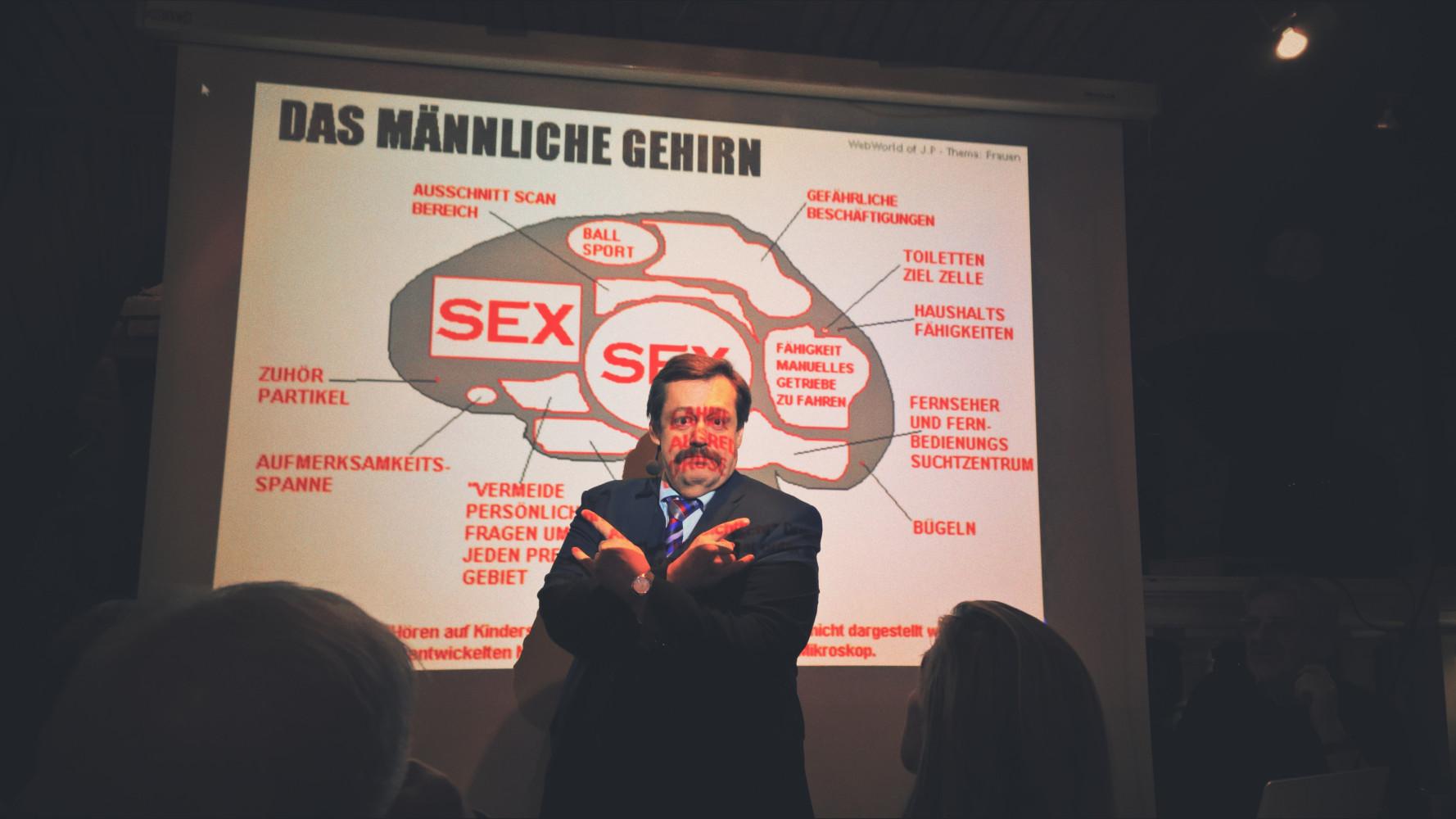 """Science Buster Mag. Werner Gruber und """"das männliche Gehirn"""" @ Klub logischer Denker, Wien"""