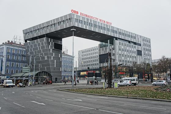 BahnhofCity Wien West: Wolkenspange