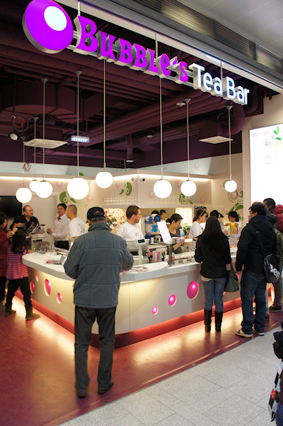 BahnhofCity Wien West: Bubble's Tea Bar