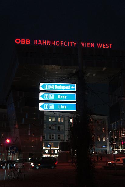 BahnhofCity Wien West: Halle vs. Neubau