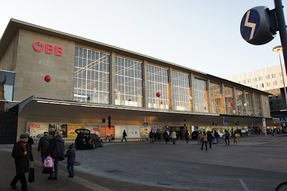 BahnhofCity Wien West: Alte Halle
