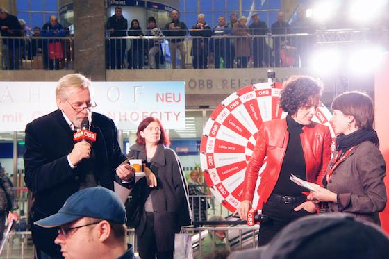 BahnhofCity Wien West: Peter Rapp