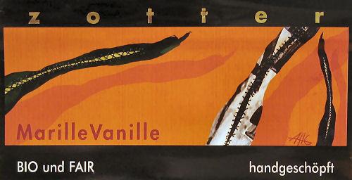 Zotter-Schokolade Marille Vanille